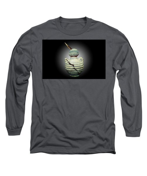 Crackpot Ninja Warrior From Maine Long Sleeve T-Shirt