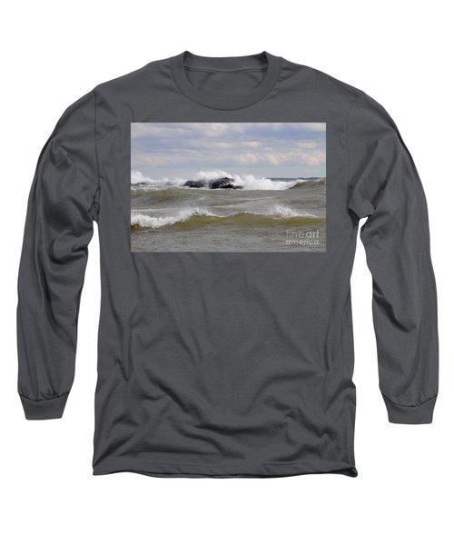 Crashing The Reef Long Sleeve T-Shirt