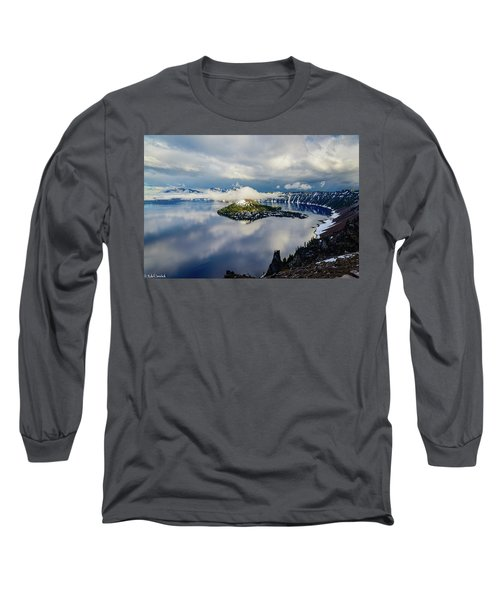 Crater Lake Storm Long Sleeve T-Shirt