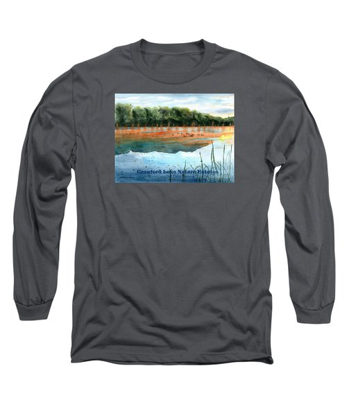 Crawford Lake Nature Estates Long Sleeve T-Shirt by LeAnne Sowa