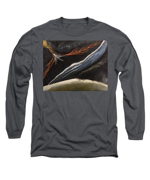 Crazy Long Sleeve T-Shirt by Steve  Hester