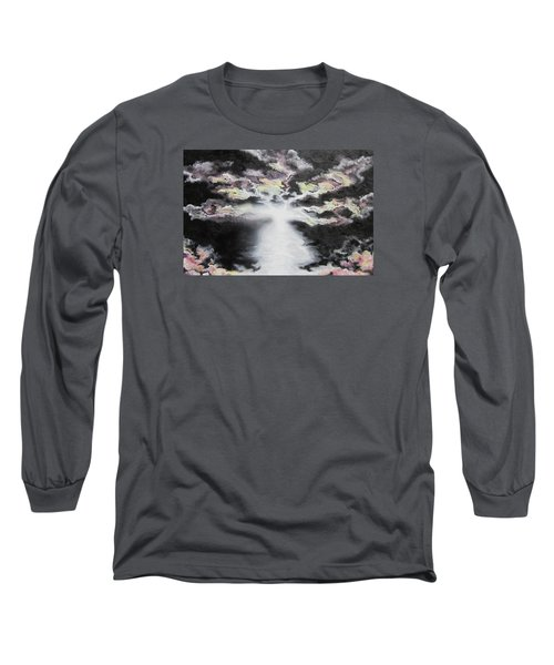 Long Sleeve T-Shirt featuring the painting Creation by Cheryl Pettigrew