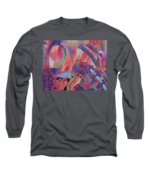 Creatures Of Sea Glass Reef Long Sleeve T-Shirt