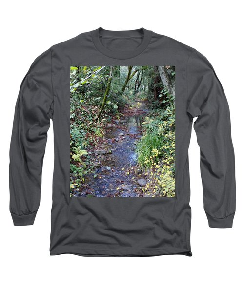 Creek On Mt Tamalpais 2 Long Sleeve T-Shirt