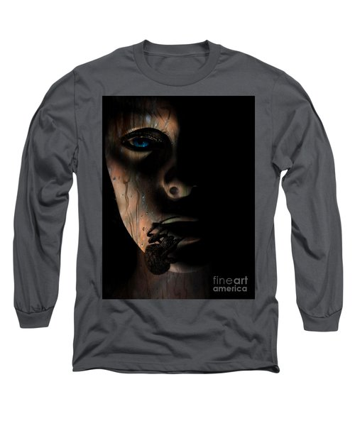 Long Sleeve T-Shirt featuring the photograph Creepy by Trena Mara