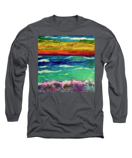 Crepe Paper Sunset Long Sleeve T-Shirt