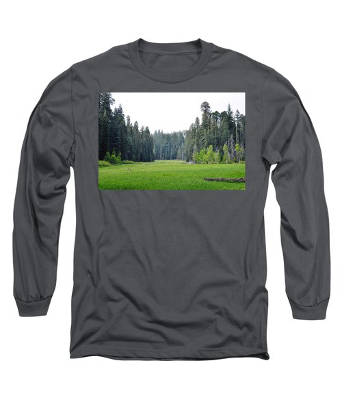 Long Sleeve T-Shirt featuring the photograph Crescent Meadow by Kyle Hanson