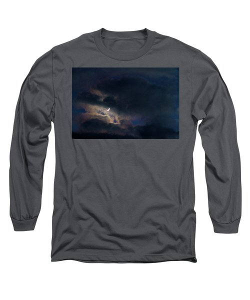 Crescent Moon In Hocking Hilla Long Sleeve T-Shirt