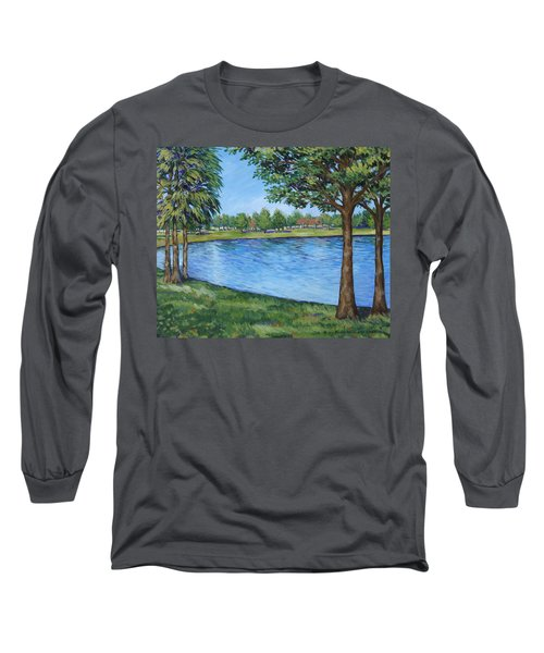 Crest Lake Park Long Sleeve T-Shirt by Penny Birch-Williams