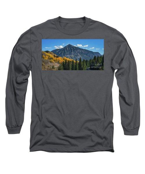 Crested Butte Mountain Long Sleeve T-Shirt