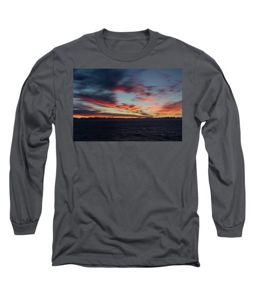 Crimson Morning Long Sleeve T-Shirt