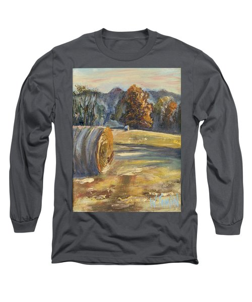 Crisp Air And Sunset Kisses Long Sleeve T-Shirt