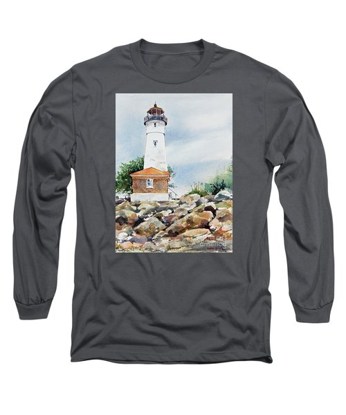 Crisp Lighthouse Long Sleeve T-Shirt