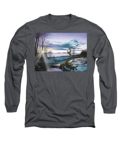 Crisp Winter Light Long Sleeve T-Shirt