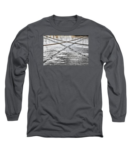 Long Sleeve T-Shirt featuring the photograph Criss-crossed by Edgar Laureano