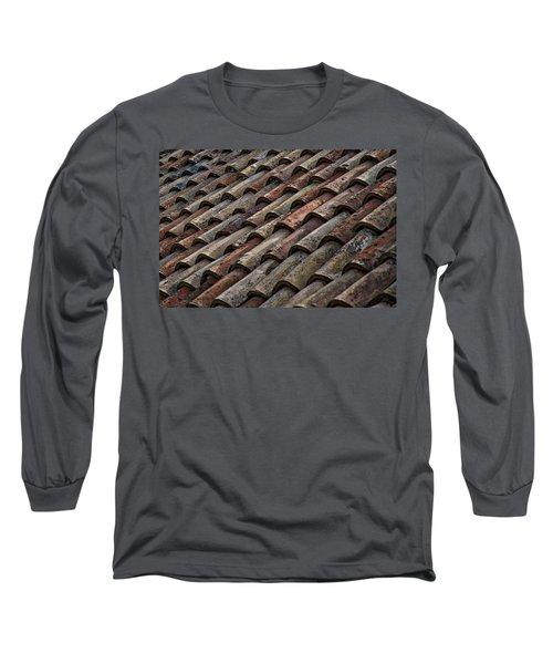 Croatian Roof Tiles Long Sleeve T-Shirt
