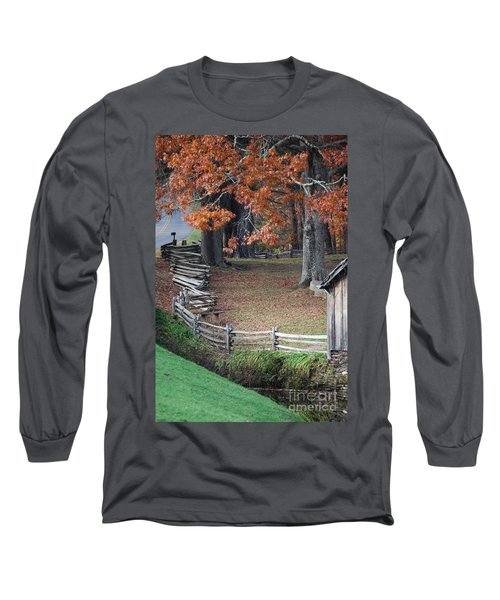Crooked Fence Long Sleeve T-Shirt