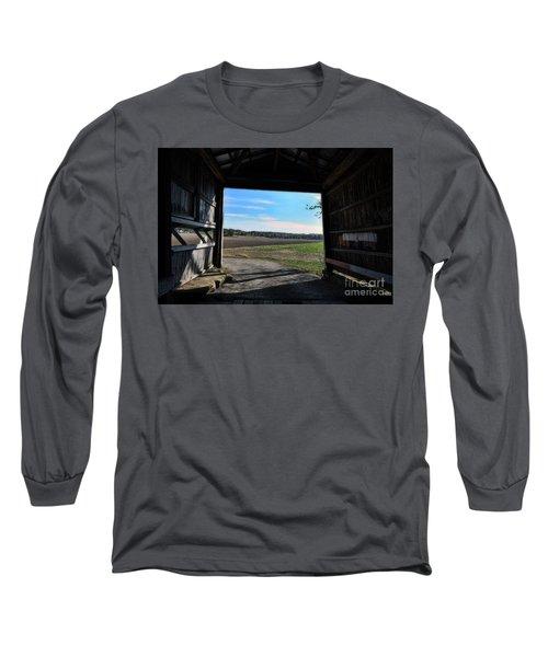Crooks Bridge Long Sleeve T-Shirt by Joanne Coyle