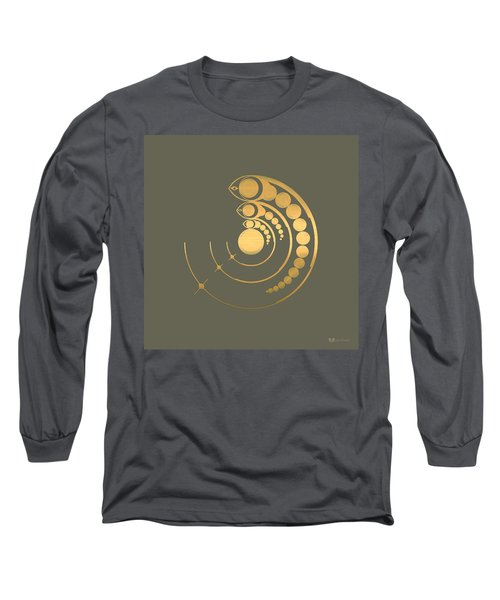 Crop Circle Formation Near Avebury  Long Sleeve T-Shirt