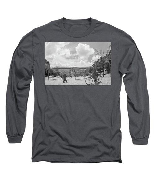 Cross Look Long Sleeve T-Shirt