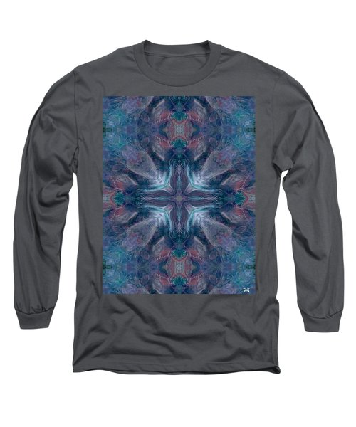 Cross Of Mentors Long Sleeve T-Shirt by Maria Watt
