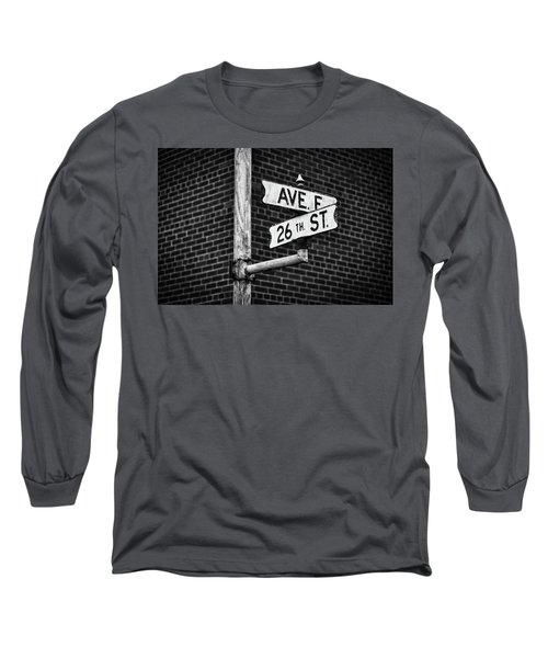 Long Sleeve T-Shirt featuring the photograph Cross Roads by Darren White
