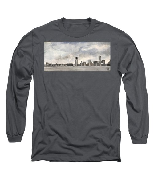 'cross The Mersey Long Sleeve T-Shirt