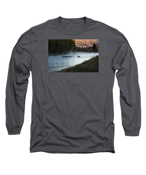 Crossing The River Long Sleeve T-Shirt