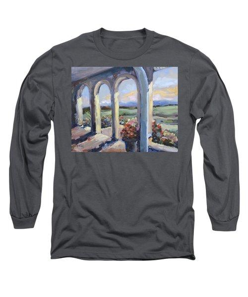 Crosskeys Vineyards In Virginia Long Sleeve T-Shirt