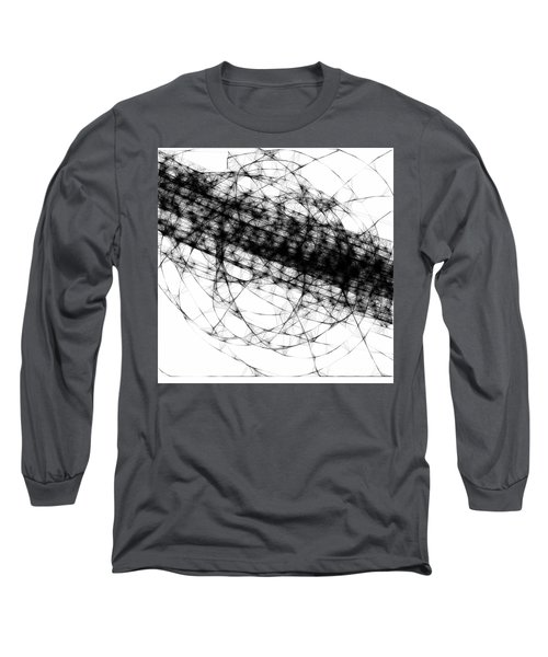 Crown Of Thorns Long Sleeve T-Shirt by Steven Macanka