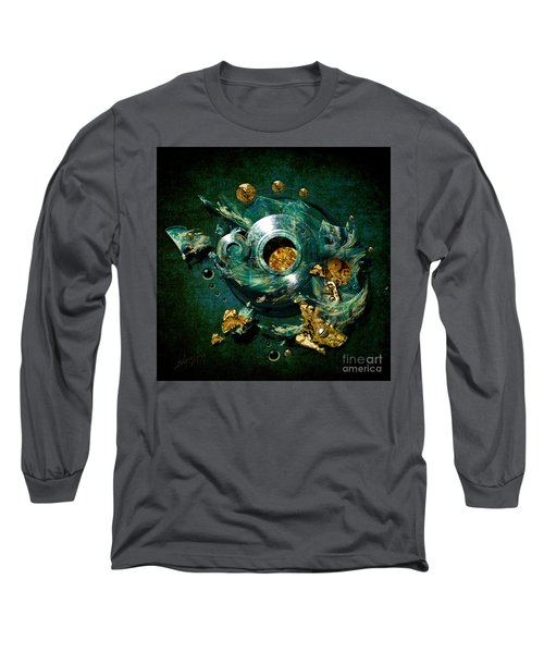 Long Sleeve T-Shirt featuring the painting Crucible by Alexa Szlavics