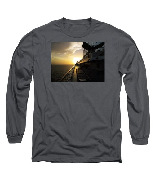 Cruisin' At Sunset Long Sleeve T-Shirt