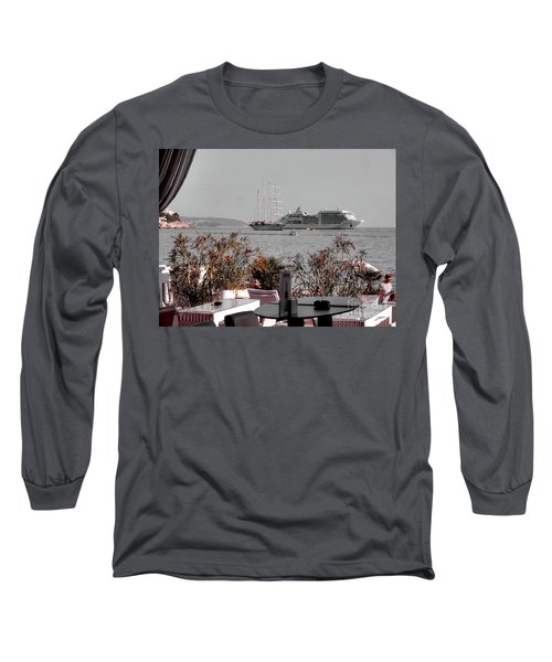 Cruising Past And Present Long Sleeve T-Shirt