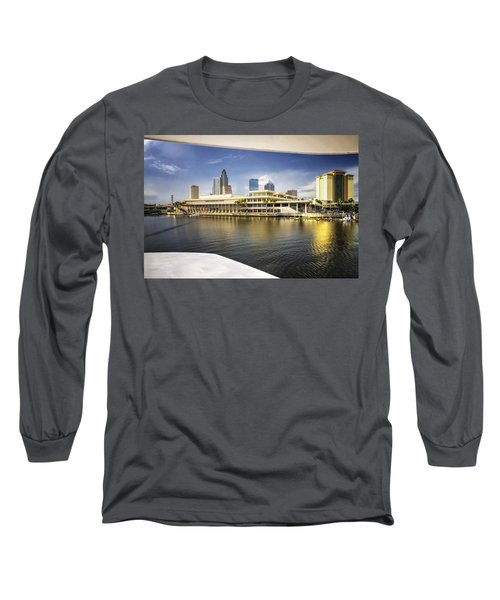 Cruising To Tampa In Hdr Long Sleeve T-Shirt by Michael White