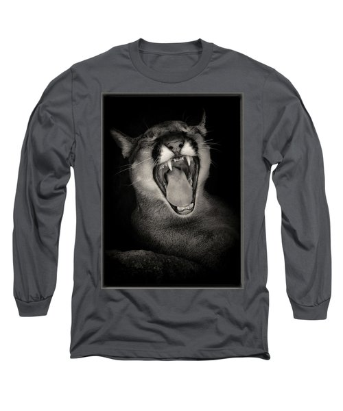 Cruz Yawning Long Sleeve T-Shirt