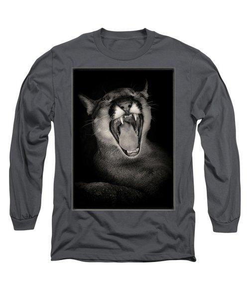 Cruz Yawning Long Sleeve T-Shirt