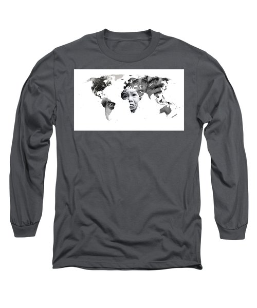 Crying Earth Long Sleeve T-Shirt