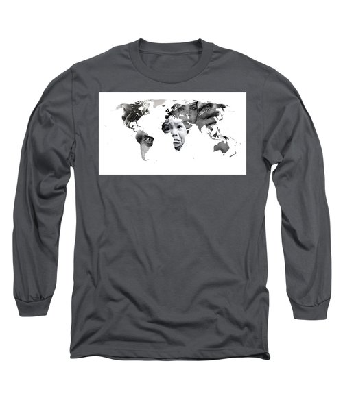 Crying Earth Long Sleeve T-Shirt
