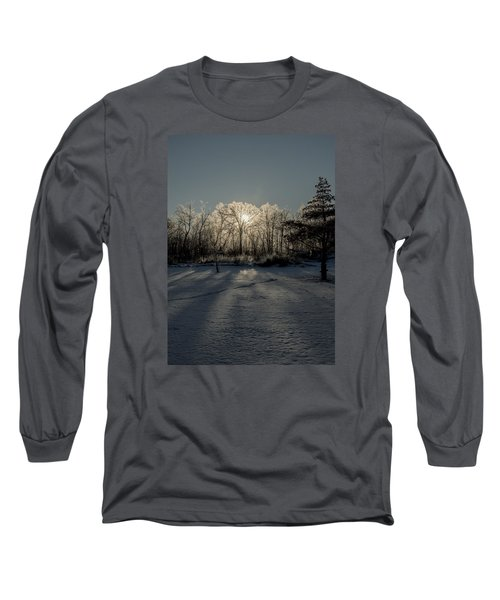 Long Sleeve T-Shirt featuring the photograph Crystal Glow by Annette Berglund