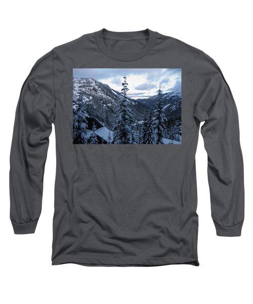 Crystal Mountain Dawn Long Sleeve T-Shirt