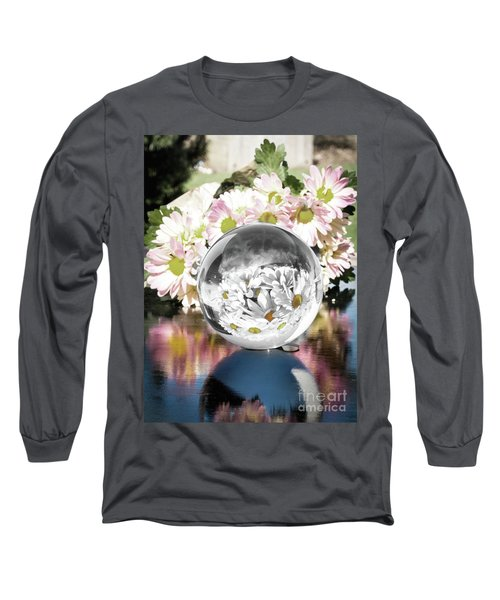 Crystal Reflection Long Sleeve T-Shirt
