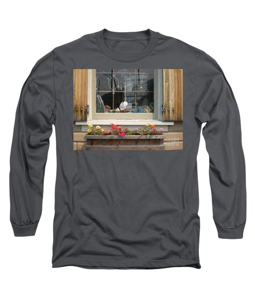 Crystal Window Long Sleeve T-Shirt