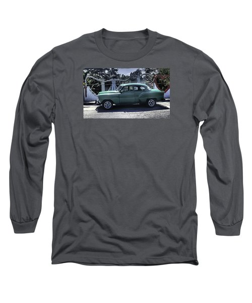 Cuba Car 8 Long Sleeve T-Shirt