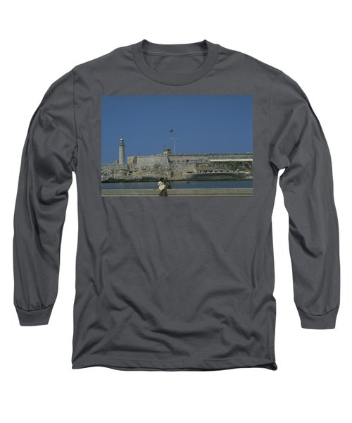 Long Sleeve T-Shirt featuring the photograph Cuba In The Time Of Castro by Travel Pics