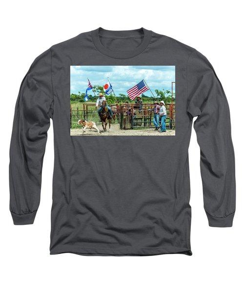 Cuban Cowboys Long Sleeve T-Shirt