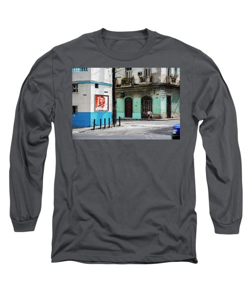 Cuban Icons Long Sleeve T-Shirt