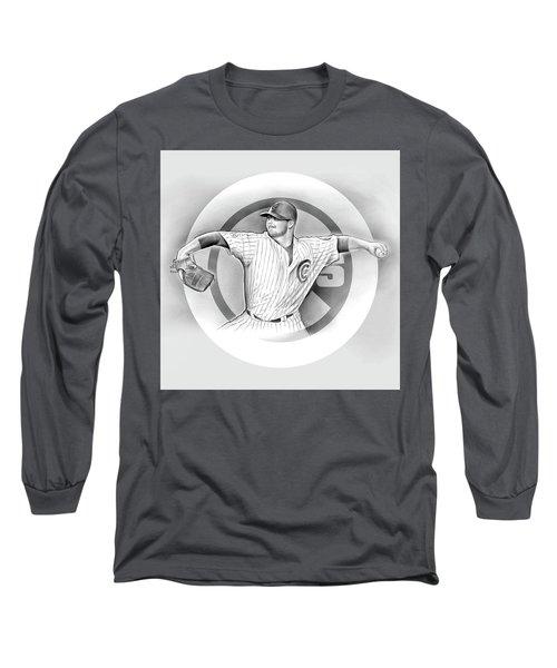 Cubs 2016 Long Sleeve T-Shirt by Greg Joens