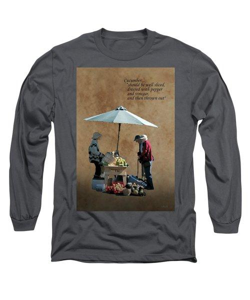 Cucumber Long Sleeve T-Shirt