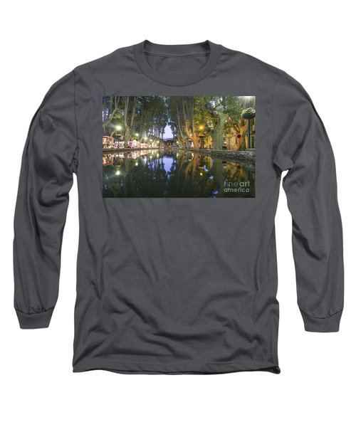 Long Sleeve T-Shirt featuring the photograph Cucuron Village Provence  by Juergen Held
