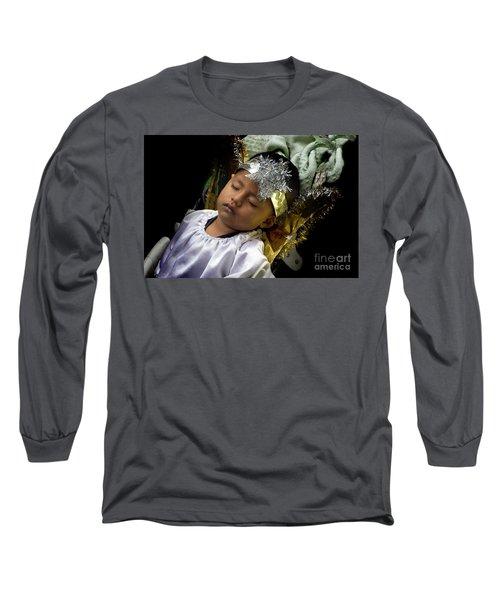 Cuenca Kids 781 Long Sleeve T-Shirt by Al Bourassa